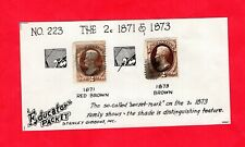 Usa, Two cent Brown Washington, cat value $120+ (7607