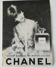 1960 Chanel No. 5 perfume bottle becomes the woman you are fragrance ad