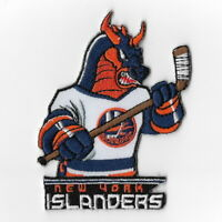 NHL New York Islanders Mascot Iron on Patches Embroidered Patch Applique Badge