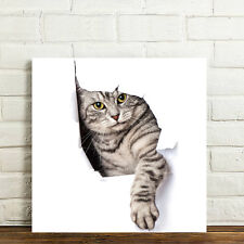 Unframed Canvas Prints Modern Home Decor Wall Art Picture-Naughty Cat
