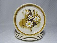 4 Mikasa Daisy Mae Salad Plates F5822, Stone Manor