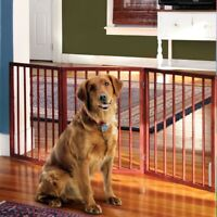 "Pet Dog Gate - Free Standing Tri-Fold - 24"" Tall 52"" Wide"