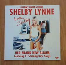 Shelby Lynne Promo Poster Ultra Rare