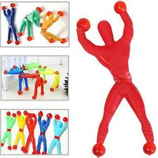 5Pcs Sticky Wall Climber Climbing Flip Spiderman Toys Kids Birthday Party Gift