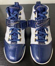 Nike air zoom Lebron V 5 men's midnight/white 317253-141 sneakers size 10
