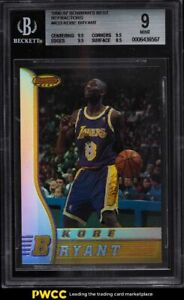 1996 Bowman's Best Refractor Kobe Bryant ROOKIE RC #R23 BGS 9 MINT