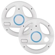 1X Game Racing Steering Wheel for Nintendo Wii Mario Kart Remote Controller UK