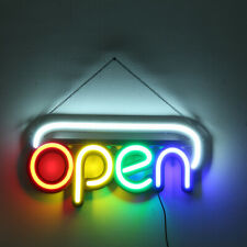 OPEN Neon Sign Light Beer Bar Pub Party Shop Room Wall Decor 110-240V US Plug