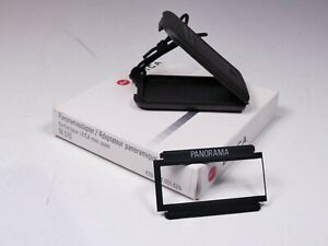 LEICA PANORAMA PANORAMIC ADAPTER FOR LEICA MINILUX &  ZOOM 18510 BOXED SS