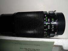SOLIGOR 80-200mm/F4.5 Multicoated Zoom+Macro C/D Auto Lens