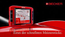 Prospekt Becker Traffic Assist Pro 8 2006 Navigation Broschüre brochure