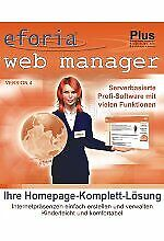 eforia web manager 4 Plus (PC - NEU)
