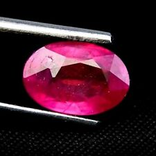 TOP RUBY : 3,34 Ct Natürliche Rot Pink Rubin aus Madagaskar