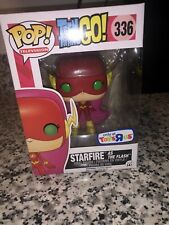 Teen Titans Go Funko Pop Starfire as The Flash 336 Toys R Us Exclusive