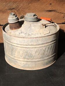 Rare Vintage Bingham/'s Cardinal Brand 5 Gallon Gas KerosUtility Can