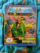 Heman Motu The Powers Of Greyskull Mini Comic 1986 Castle Skeletor Battle Cat