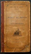 Ecole du Génie: Ecole de Ponts - Livre de l'officier / 1907