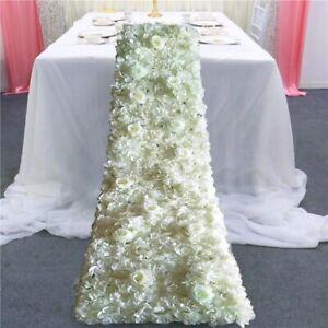 Weddinggeneral® 200cm trailing flower runner carpet
