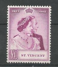 St. Vincent 1948 RSW £1 mnh SG 163