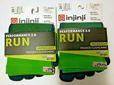Injinji Performance 2.0 Chive Midweight 2-Pack Mini Crew Run Socks Small