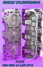 NEW 2 FORD MAZDA RANGER BRONCO Explorer 4.0 OHV LATE CYLINDER HEADS