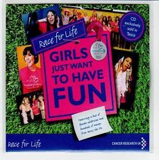 (EA919) Race For Life, Girls Just Want to Have Fun - DJ CD