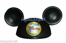 New Leap Day 2012 ONE MORE DISNEY DAY Mickey Mouse Ears Hat Limited Edition