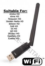 Wi-Fi Dongle Stick Amiko Ferguson Edision Openbox Skybox Golden Media Opticum