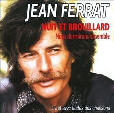 JEAN FERRAT - NUIT ET BROUILLARD NEW CD
