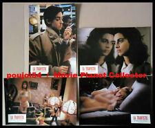 LA TRAVESTIE - Zabou,Galiena,Boisset  4 PHOTOS ORIGINALES / 4 FRENCH LOBBY CARDS