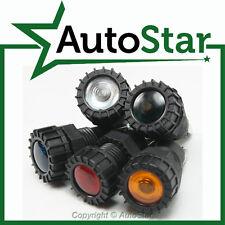 5 - Warning Lights Lamps 12v 12 volt Dash Indicator Classic Kit Car Trike Custom