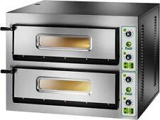 FORNO ELETTRICO PIZZA 2 CAMERE CM 61X61 TF 400 V Professionale 8400 Watt pizze