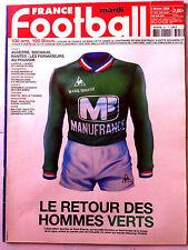 FRANCE FOOTBALL 3/02/2004; Le retour des Verts/ 100 ans, 100 Bleus/ Ljuboja
