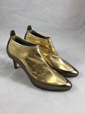 818b6f8fb48 NIB Jimmy Choo Dierdre 65 Ankle Boots in Light Honey Gold Size 37