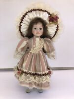 """Seymour Mann The Connoisseur Doll Collection 16"""" Porcelain Doll """"Stand included"""""""
