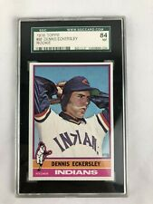 1976 Topps Dennis Eckersley ROOKIE RC #98 SGC 84 NM