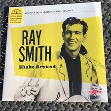 "Ray Smith - Shake Around - 10"" Yellow Vinyl Sun Records Rockabilly"