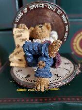 Boyds Bears Figurine - Hardley Hasslefree.Chairman of the Board