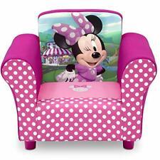 New listing Sillon Sofa Silla Sillita Para Niña Bebe Minnie Mouse Tapizado Comodo Alcolchad