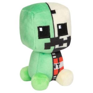 Minecraft Mini Crafters Creeper Anatomy 4.5 Plush NEW