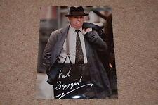 PAUL BERGQUIST signed Original Autogramm 20x25 In Person CAPTAIN AMERICA
