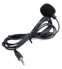 3.5MM Hands FREE Clip on Mini Microphone PC Laptop Skype MSN Chat Online Gaming