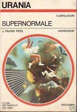 URANIA N.825 - SUPERNORMALE - J.HUNTER HOLLY
