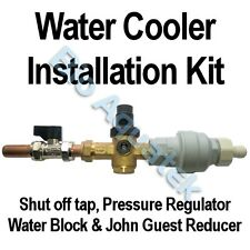Mains Fed Water Cooler Install Kit - Pressure Regulator Water Block John Guest