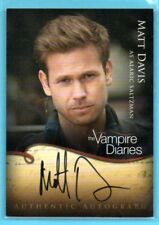 2011 Vampire Diaries AUTHENTICS Matt Davis as ALARIC SALTZMAN ON-CARD AUTO