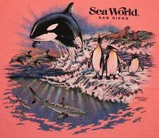 L * Nos w/tag vtg 90s 1992 Sea World t shirt * 21.128