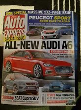 AUTO EXPRESS MAGAZINE. JUNE 2016 SPECIAL EDITION.  No.1 422 ALL-NEW AUDI A6.