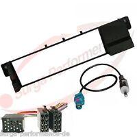 BMW E46 3er Radioblende Radioadapter ISO Antennen Adapter Radio Blende Rahmen