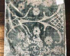 "New Pottery Barn Amelia Printed Velvet 22"" Pillow Cover Christmas Decor"