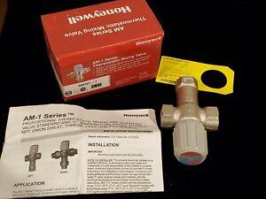 "Honeywell AM-1 SERIES 3/4"" Female NPT Thermostatic MIXING VALVE"